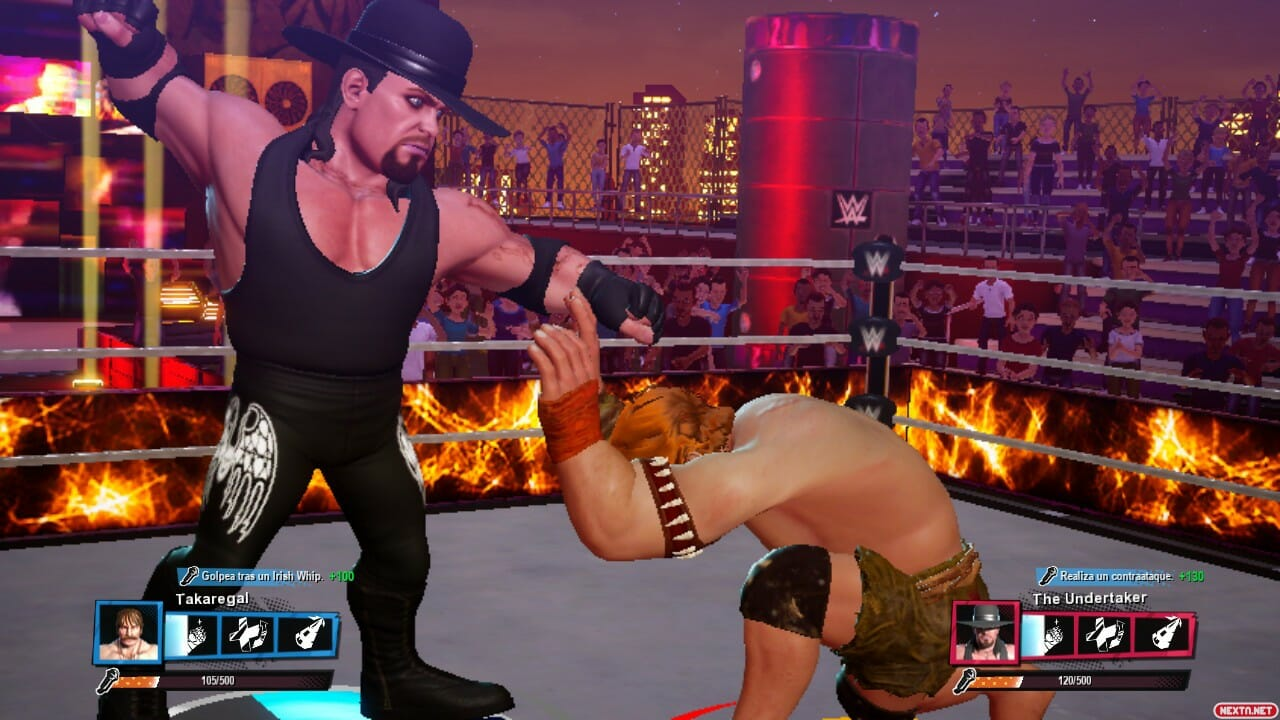 WWE 2K Battlegrounds The Undertaker
