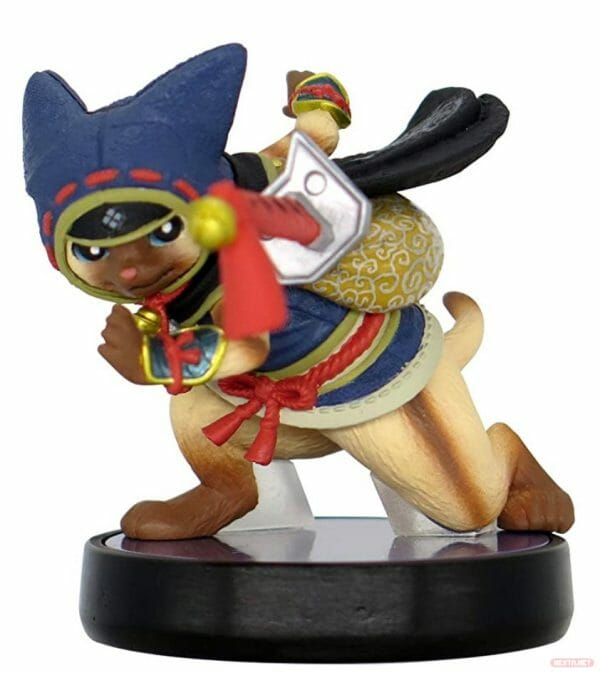 amiibo Monster Hunter Rise felyne