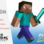 Super Smash Bros Ultimate Steve Minecraft