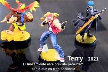 amiibo Terry Byleth Banjo Kazooie