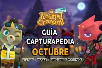Guía Capturapedia de octubre de Animal Crossing: New Horizons