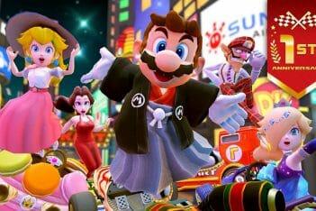 Mario Kart Tour detalles evento Aniversario