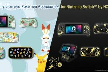 Línea de accesorios Pokémon de HORI para Nintendo Switch