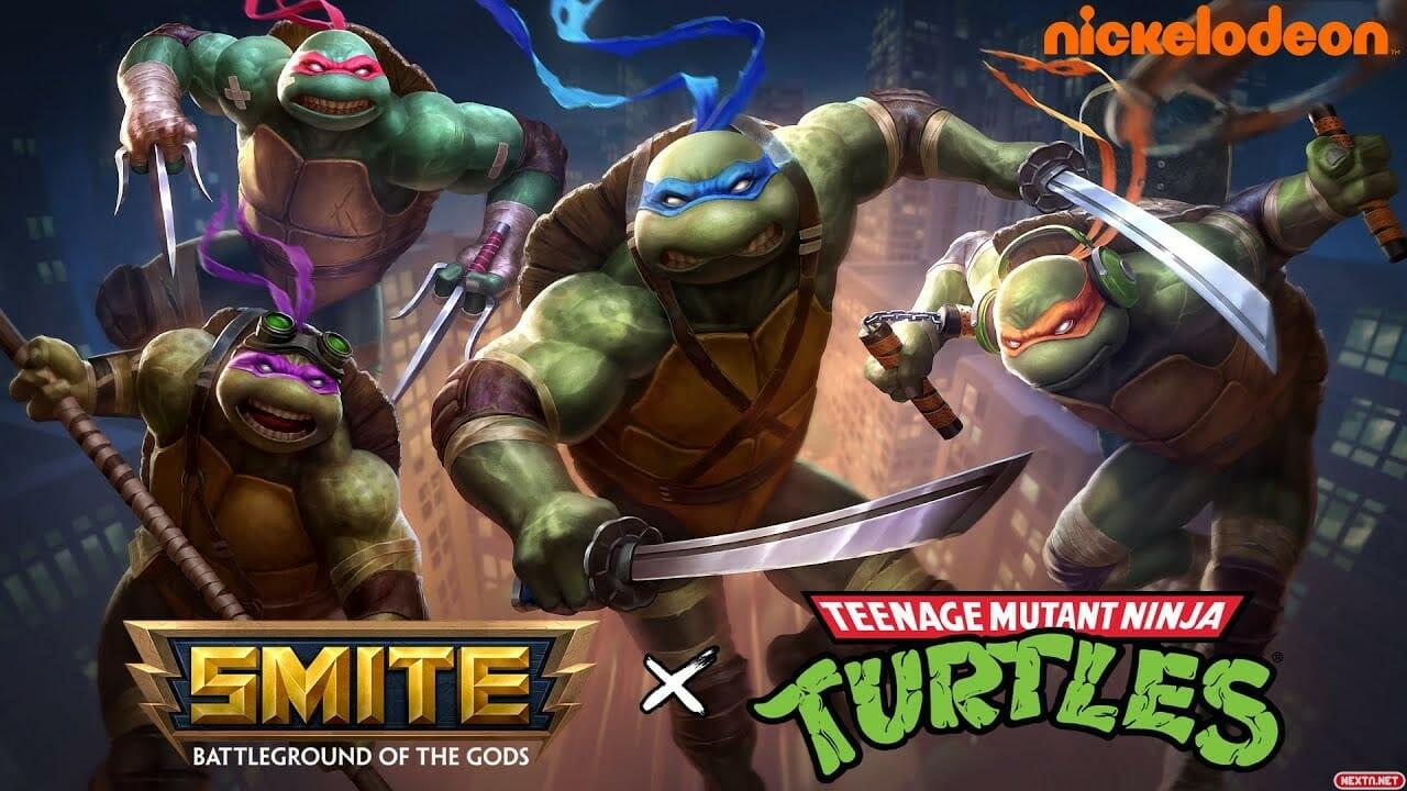 Teenage mutant ninja turtles Smite Tortugas Ninja