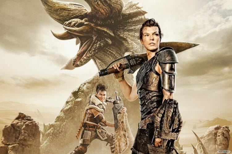 monster hunter pelicula