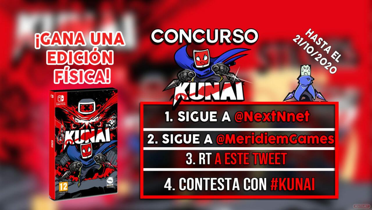Concurso Kunai Switch físico Edición Day One