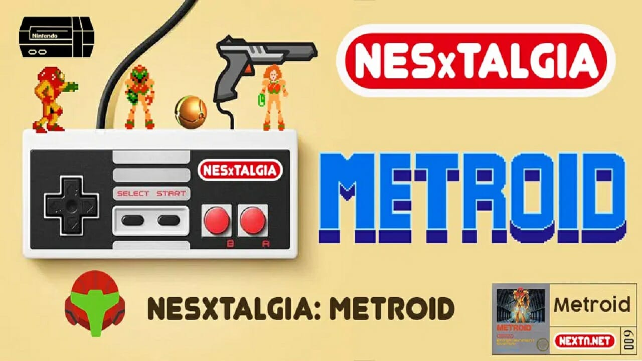 NESxtalgia Metroid NES
