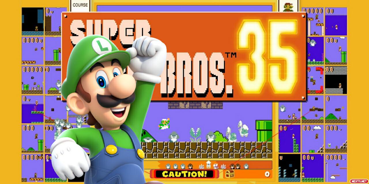 Luigi en Super Mario Bros. 35