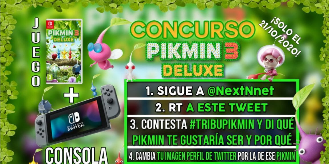 Concurso Pikmin 3 Deluxe + Switch
