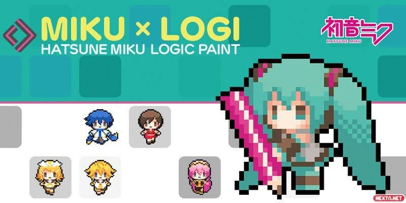 Hatsune Miku Logic Paint