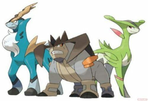 Pokémon Espadachines