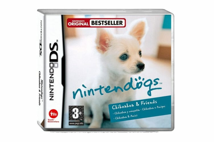 Nintendogs boxart NDS Chihuahua & Friends