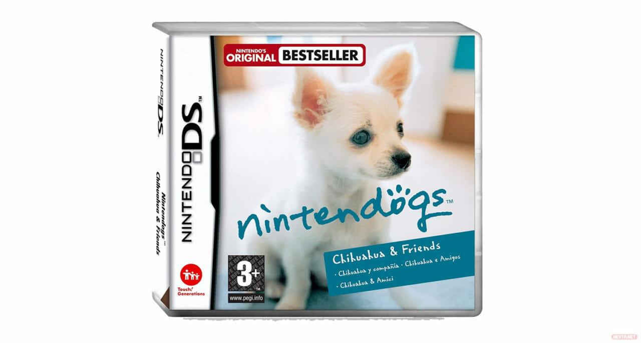 Nintendogs boxart NDS Chihuahua & Friends