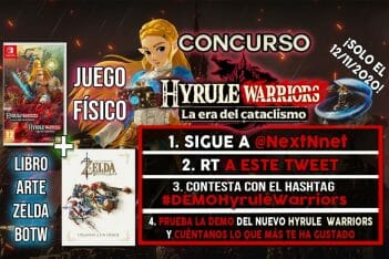 Concurso Demo Hyrule Warriors La era del cataclismo artbook Zelda BOTW