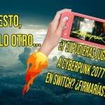 Cyberpunk 2077 Nintendo Switch nube