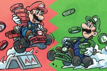 Mario Kart Tour Mario Vs Luigi