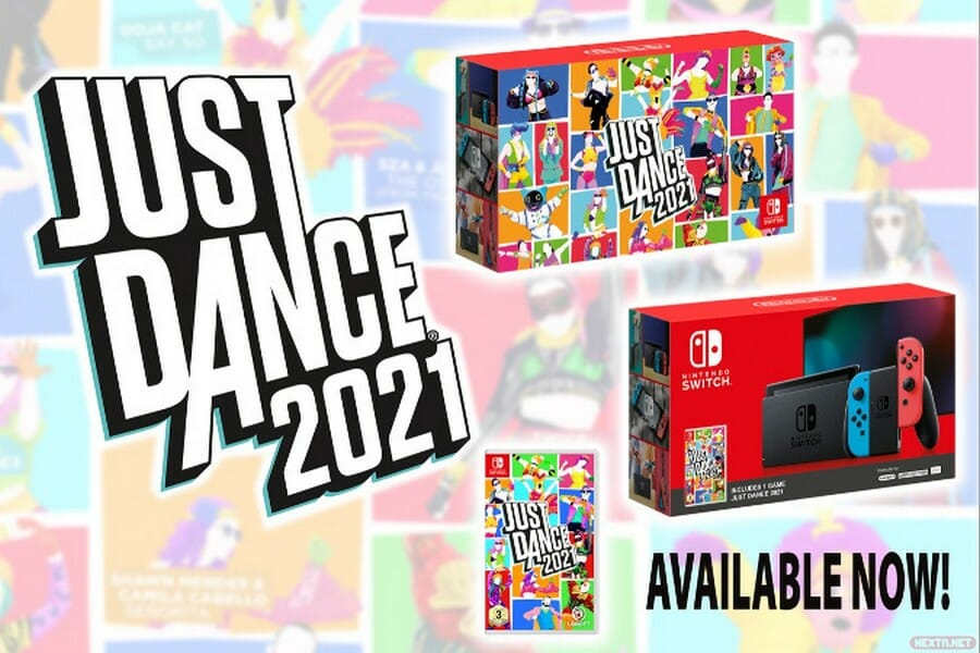 Just Dance 2021 pack