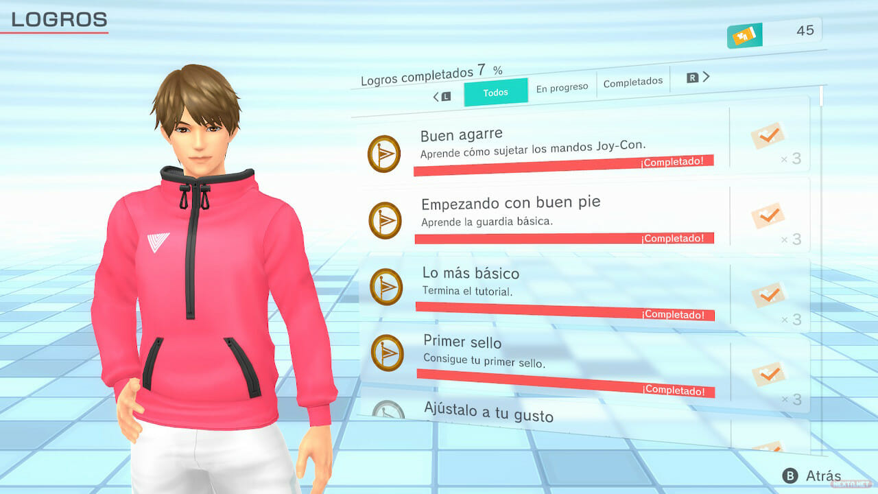 Avance Análisis Impresiones Fitness Boxing 2