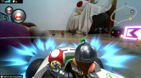 Guía Mario Kart Live Home Circuit truco derrape