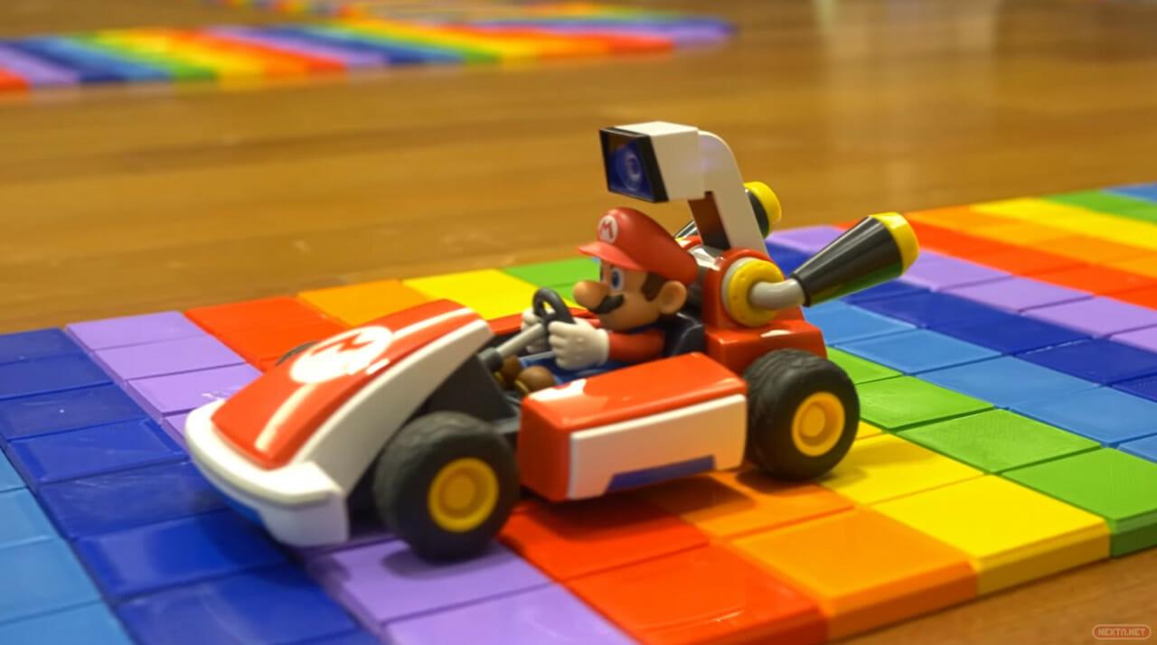 Mario Kart Live Home Circuit Senda Arcoíris impresión 3D