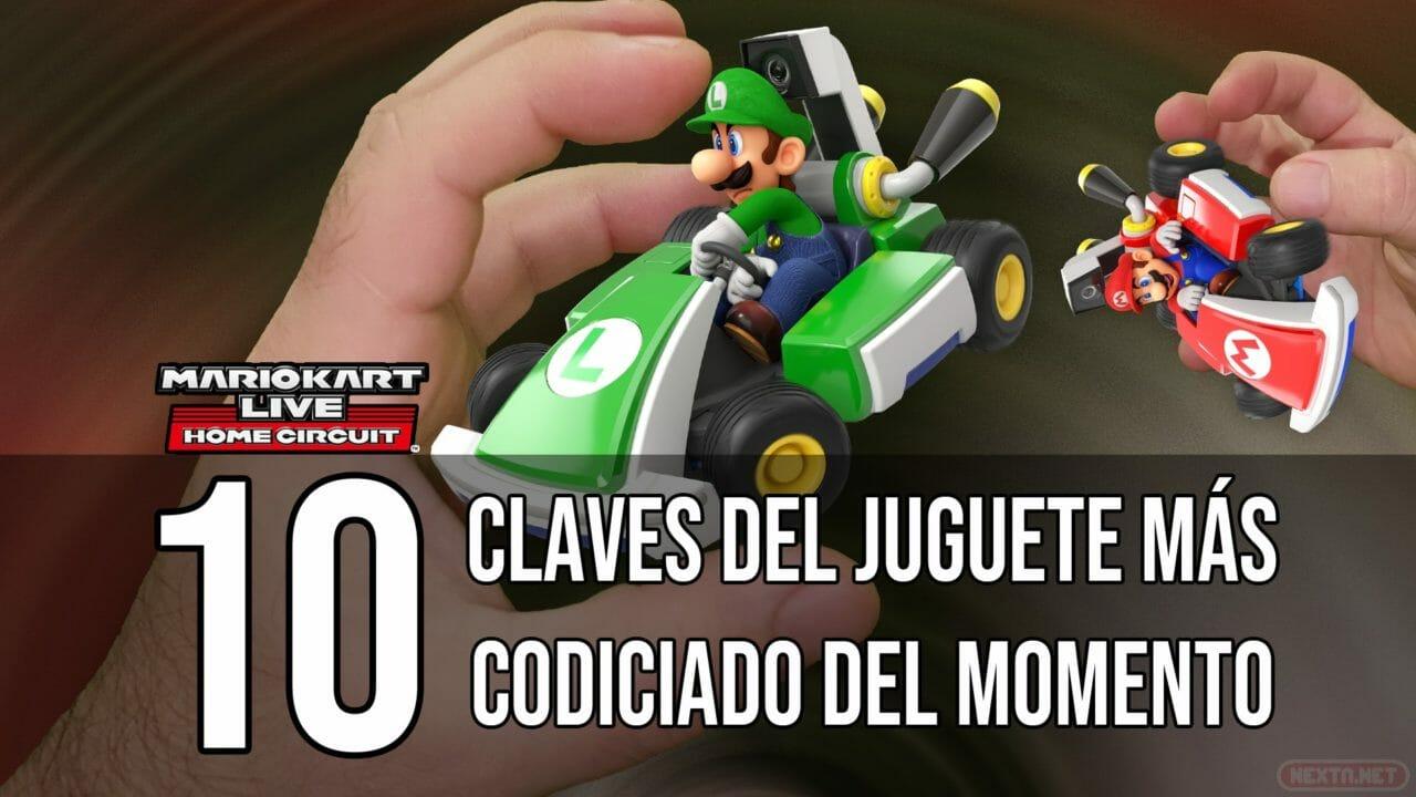 Mario Kart Live Home Circuit 10 claves juguete más codiciado