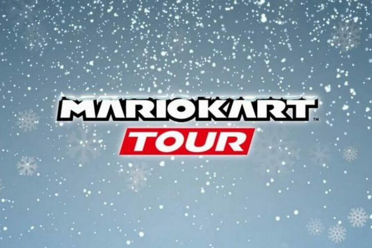 Winter Tour de Mario Kart