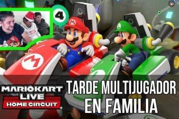 Mario Kart Live Home Circuit Multijugador en Familia
