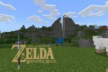 Minecraft Breath of the Wild