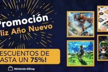 ofertas año nuevo eshop Nintendo Switch