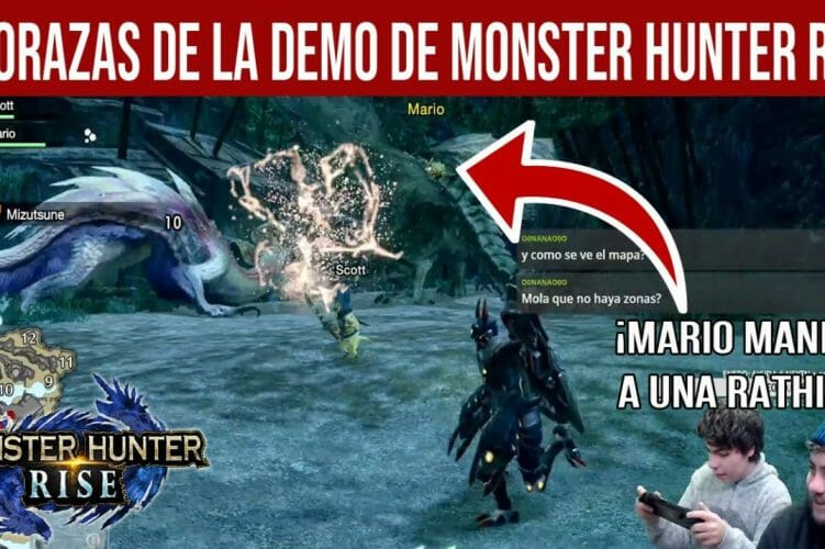Demo Monster Hunter gameplay