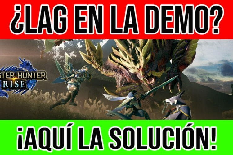 Monster Hunter Rise lag demo frost solucion solution
