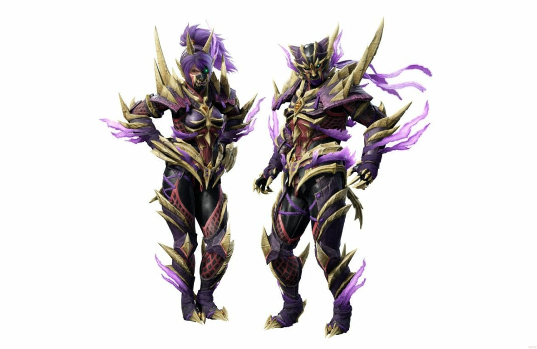 Armure de Monster Hunter Rise amiibo Magnamalo