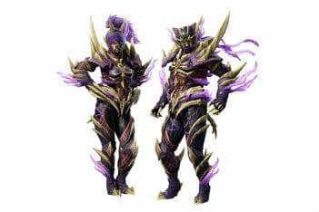 Monster Hunter Rise armadura Magnamalo amiibo