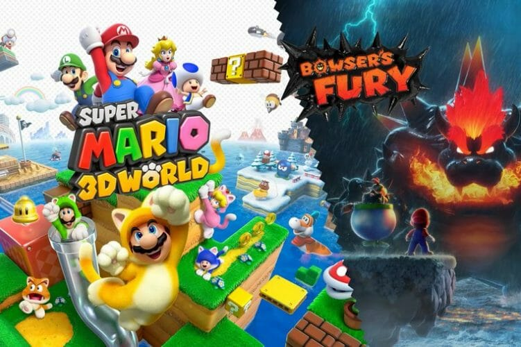 Super Mario 3D World + Bowser´s Fury Portada