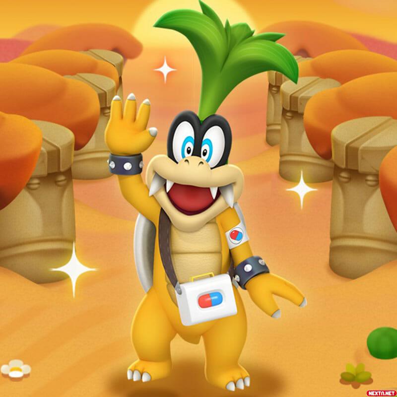 Dr Mario World Iggy