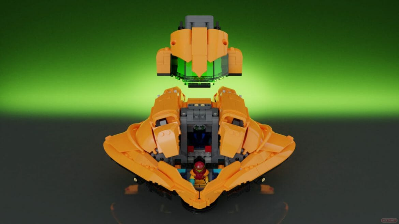 LEGO Metroid LEGO Ideas Samus Aran nave