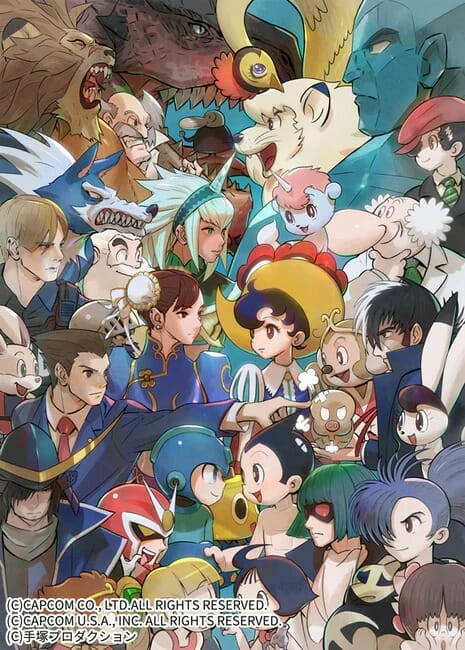 Capcom vs. Osamu Tezuka Characters