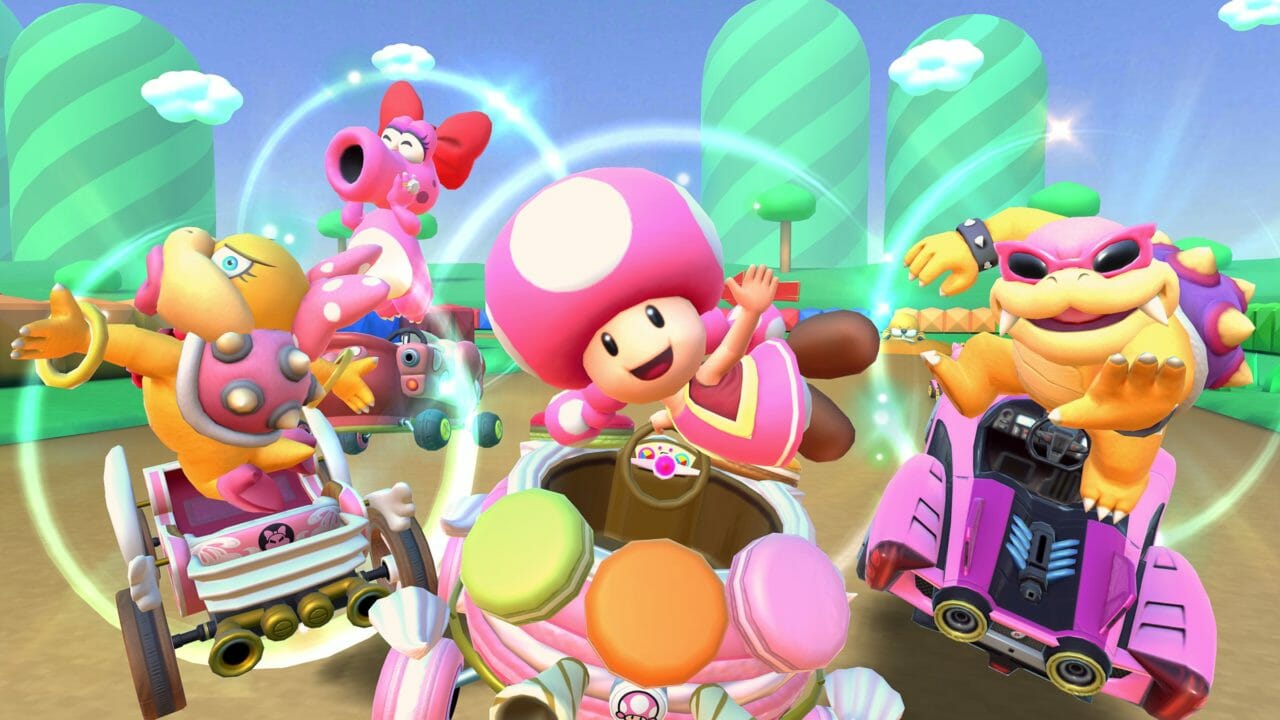 Mario Kart Tour anuncia el Cat Tour