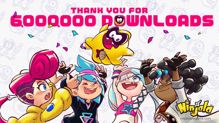Ninjala 6 million downloads