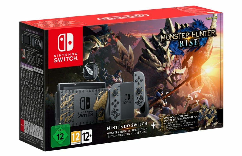 Modèle spécial Monster Hunter Rise Nintendo Switch