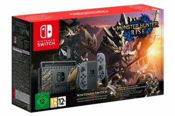 Nintendo Switch especial Monster Hunter Rise modelo