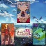 Atelier Mysterious Trilogy Deluxe Pack Primer Tráiler Japonés Reserva Edición Física Modo Foto Submarino Sophie Firis Lydie and Suelle Nintendo Switch