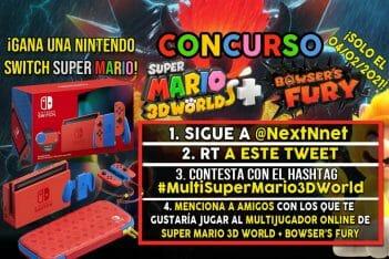 Concurso Multijugador Super Mario 3D World + Bowser's Fury