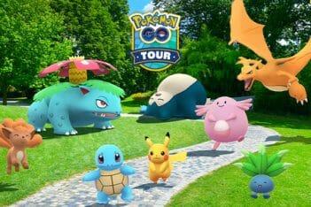 Kanto Tour Pokémon GO