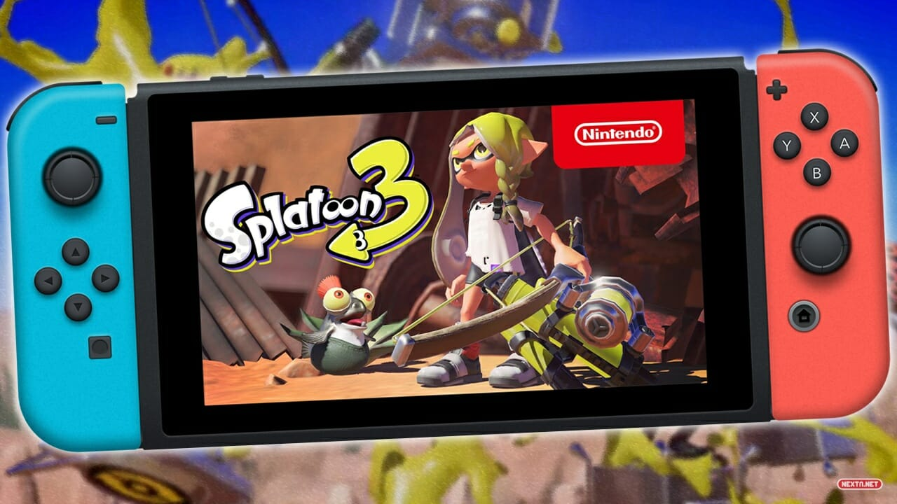 Splatoon 3 Nintendo Switch Anunciado