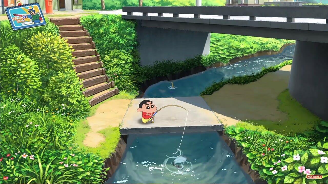 Shin chan Juego Nintendo Switch Anunciado 2021 Dinosaurio Simulación