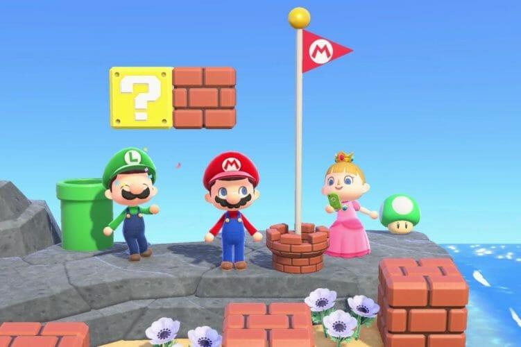 Super Mario Animal Crossing