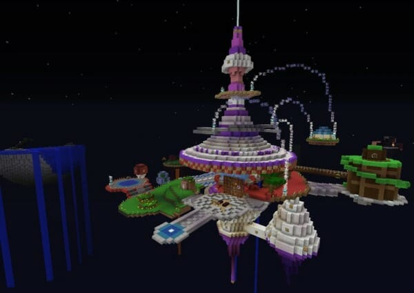 Minecraft Super Mario Galaxy