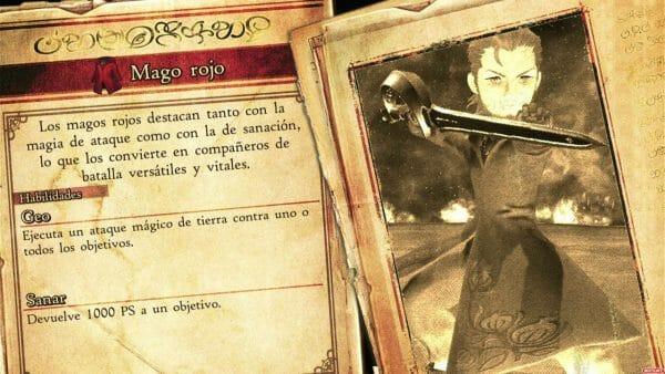 Bravely Default II Mago Rojo Rudy