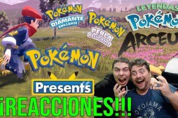 Reacciones Pokémon Present 2021